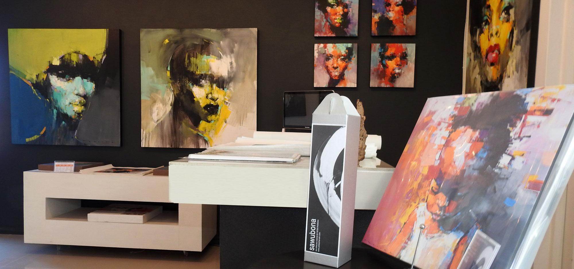 Explore the Peter Pharoah Fine Art Gallery in Wilderness