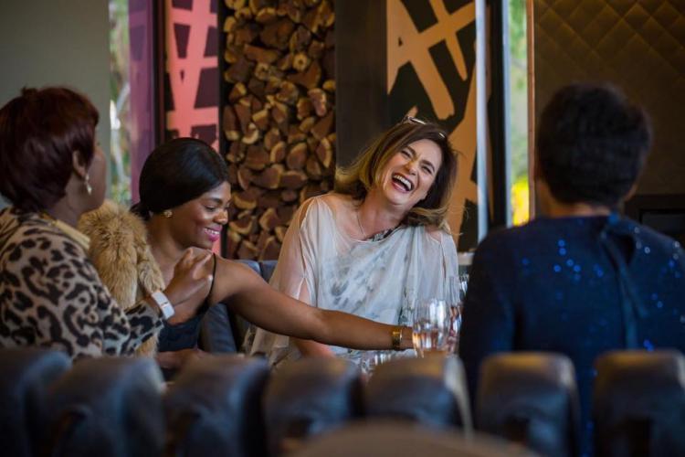 Pia Watermeyer and friends at Kunjani Wines #saykunjani
