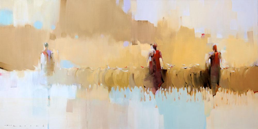Samburu Herders by Peter Pharoah